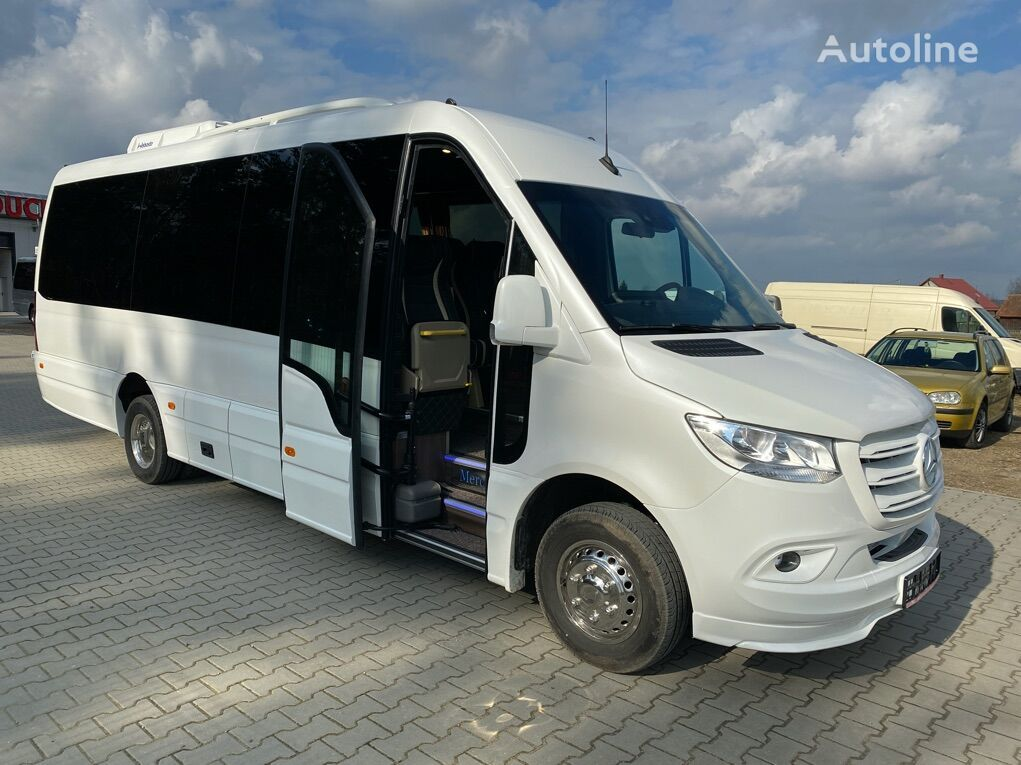 нови патничко комбе MERCEDES-BENZ Sprinter 519 XXXL Panorama / Side Lagguage White Pearl