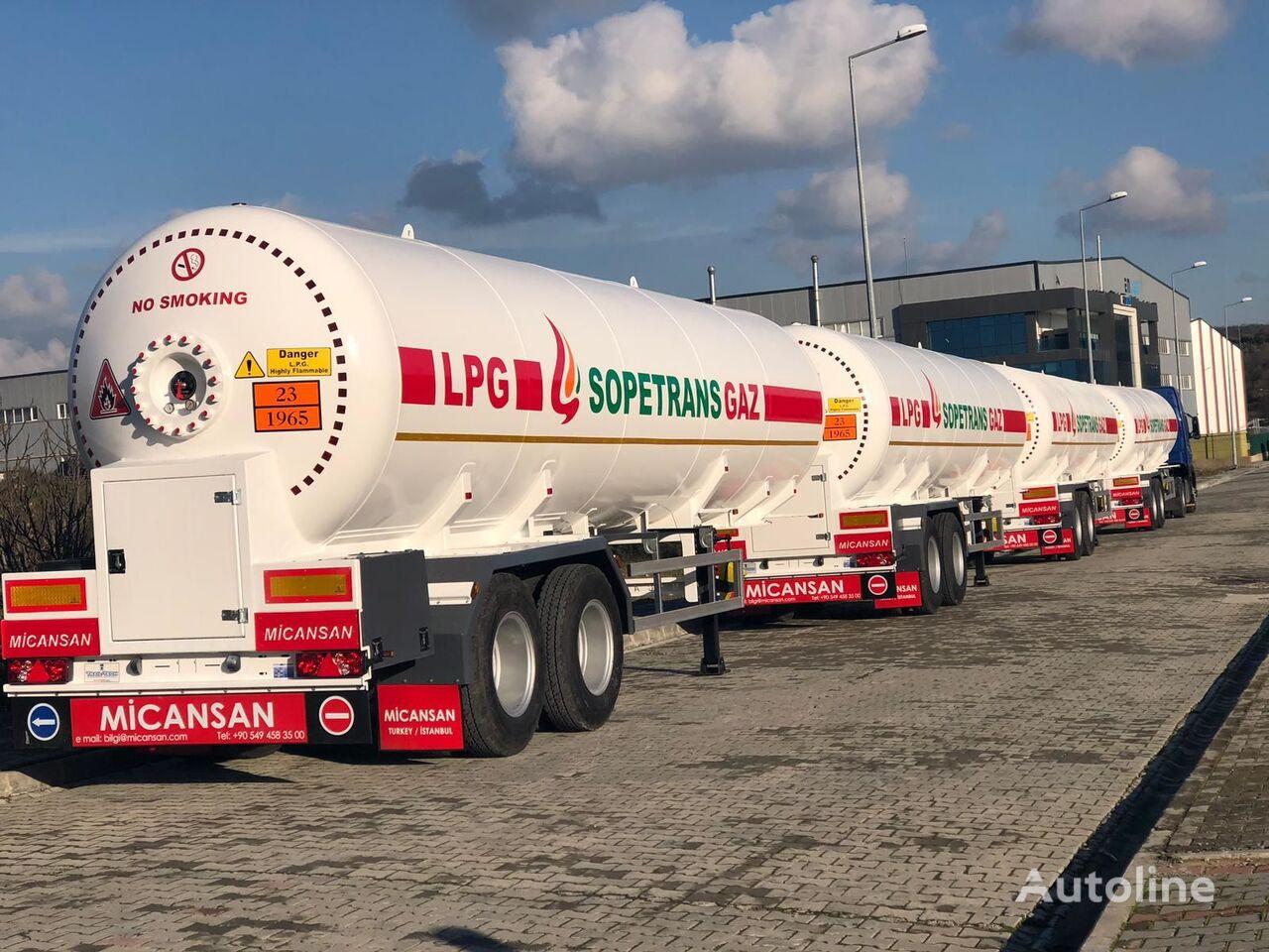 нови цистерна за гас Micansan