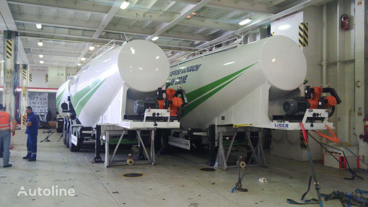 нови цистерна за превоз на цемент LIDER 2019 MODELS YEAR NEW (MANUFACTURER COMPANY LIDER TRAILER & TANKE