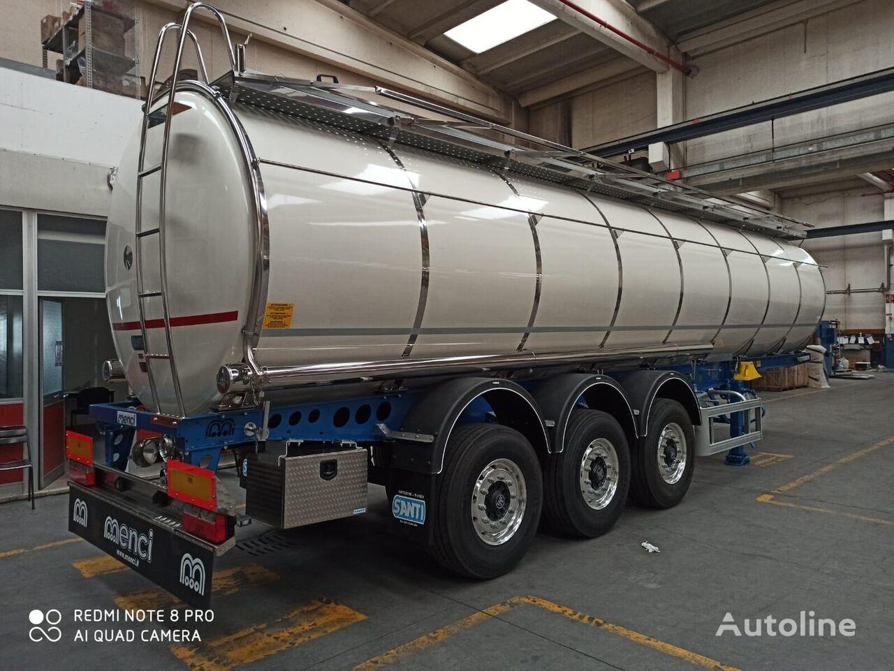нови цистерна за транспорт на храна UNIFRIG ADR  FOOD TANK