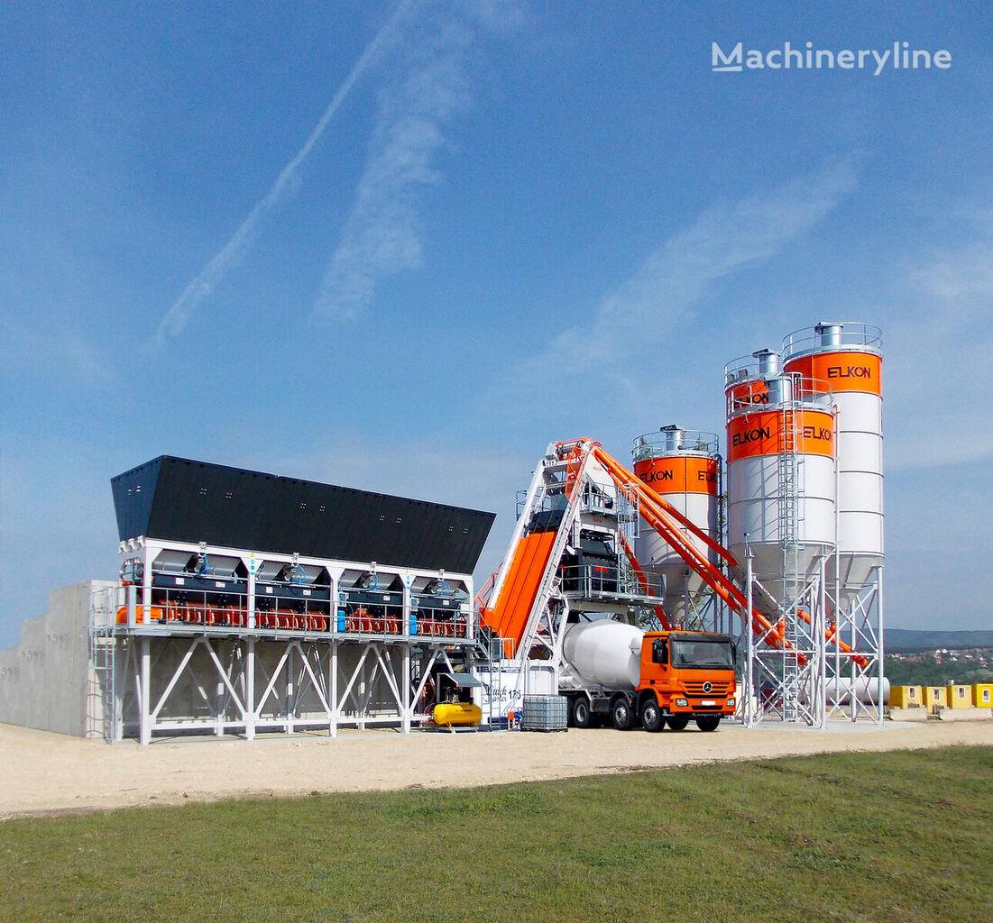 нови фабрика за бетон ELKON ELKOMIX-135 QUICK MASTER Compact Concrete Batching Plant