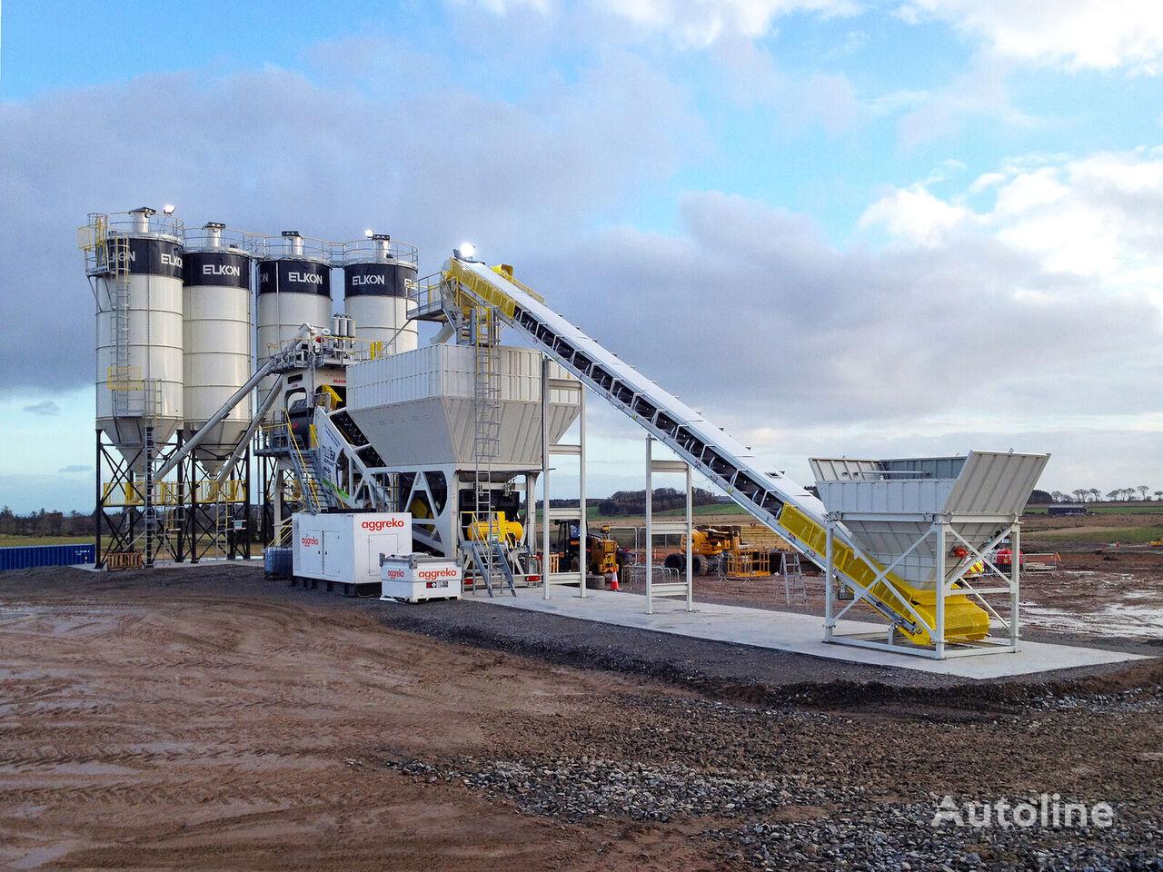 нови фабрика за бетон ELKON ELKON Mobile Master-150 Elephant Mobile Concrete Batching Plant