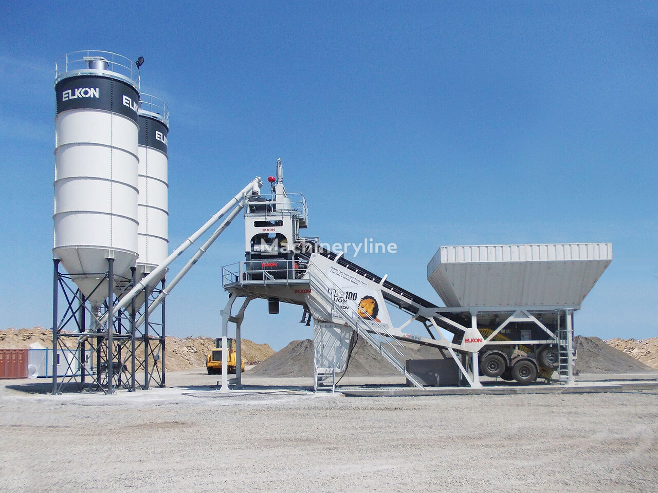 нови фабрика за бетон ELKON  MOBILE MASTER-100 LION