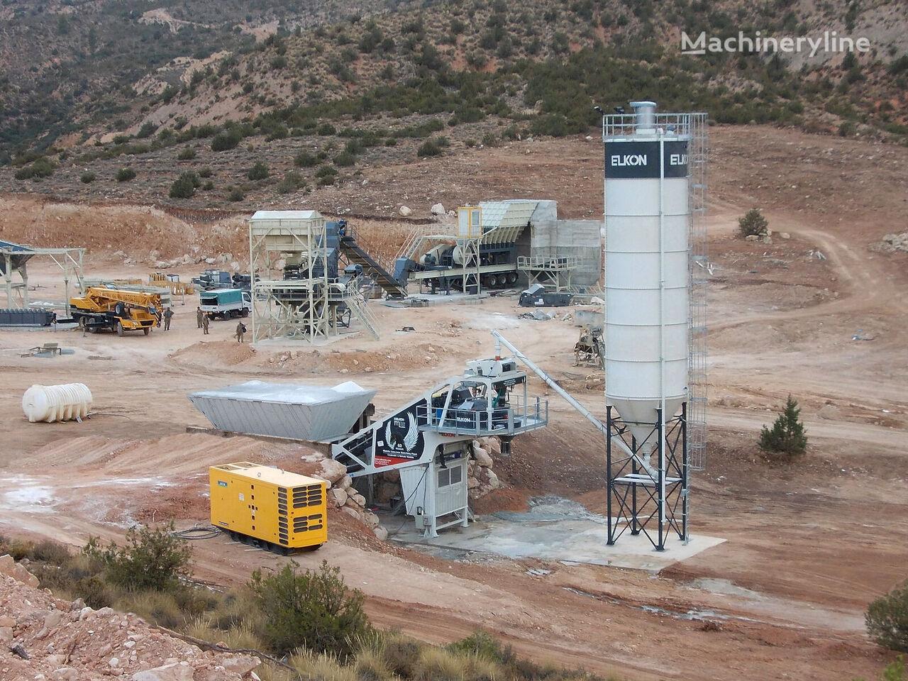 нови фабрика за бетон ELKON MOBILE MASTER-60 PEGASUS Mobile Concrete Batching Plant