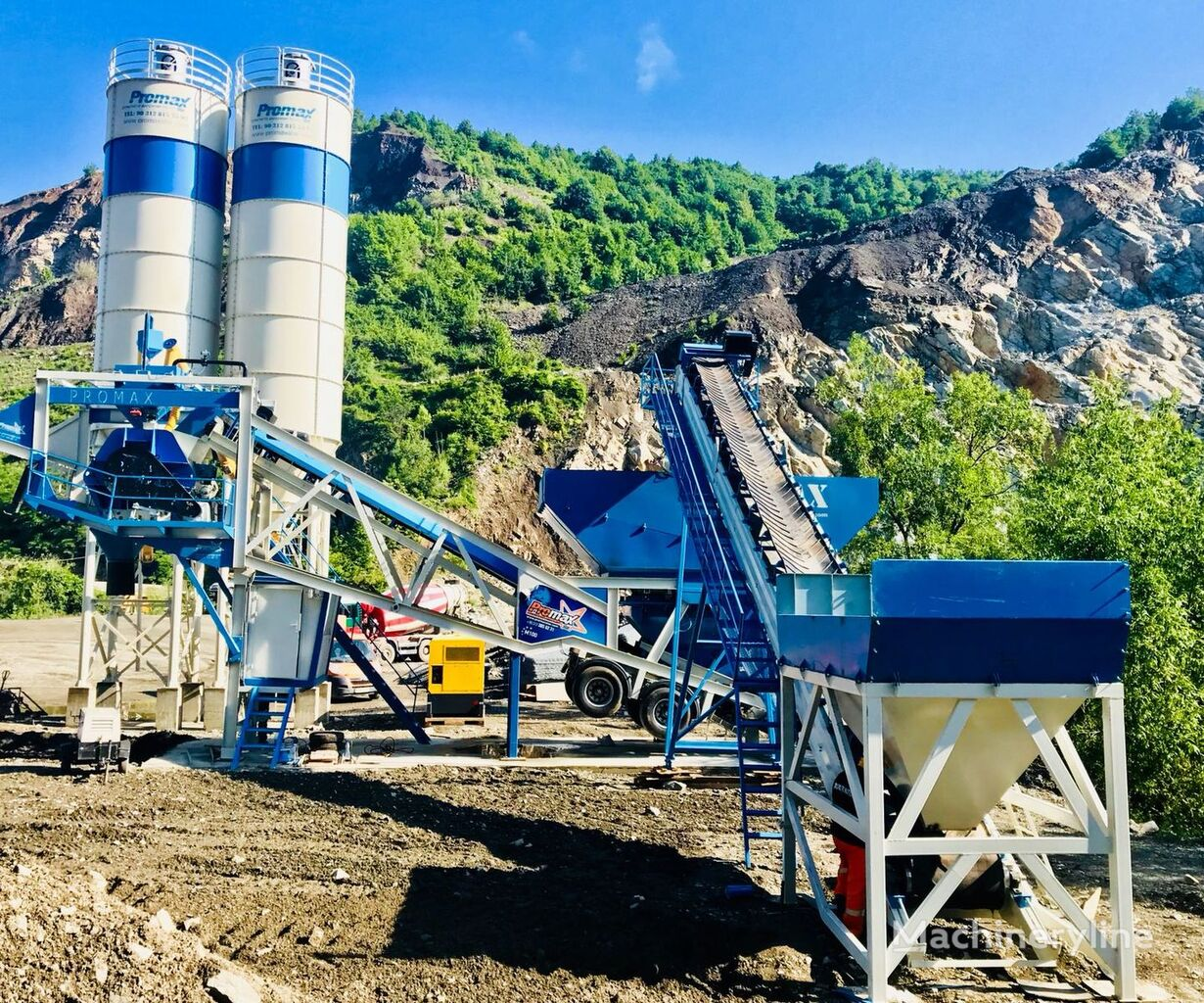 нови фабрика за бетон PROMAX STAR MOBILE CONCRETE BATCHING PLANT M100-SNG Single Shaft
