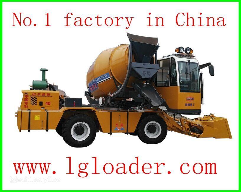 нови камион-мешалка self loading concrete mixer1