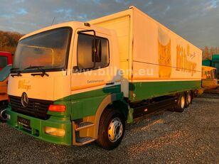 камион фургон MERCEDES-BENZ 2523 6x2  Lenkachse Schwenkwand Schaltgetriebe