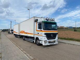 камион фургон MERCEDES-BENZ ACTROS 1844 + приколка