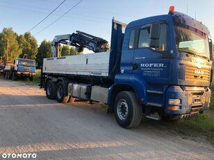 камион кипер MAN TGA 33.480 6x4 + PALFINGER PK 23002