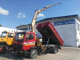 камион кипер MERCEDES-BENZ 1520K RIBALTABILE + GRU COPMA C1130/3