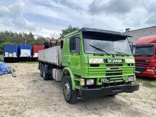 камион кипер SCANIA 113H 360 dump crane truck