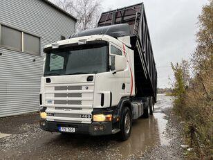 камион кипер SCANIA R144 6X2