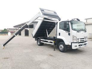 камион кипер ISUZU FRR90 RIBALTABILE TRILATERALE + GRU