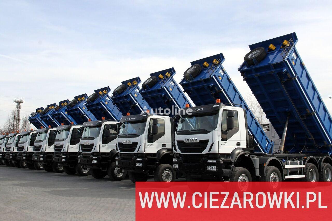 камион кипер IVECO Trakker , 8x8 , E6 , Retarder , manual, 2018 , 10 units for sale