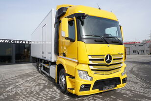 камион-ладилник MERCEDES-BENZ Actros 2542 , E6 , 6x2 , 22 EPAL , Side door , lift axle , Carri
