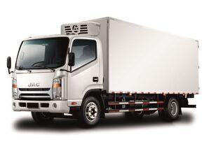 нови камион-ладилник JAC Изотермический фургон с ХОУ JAC N 80