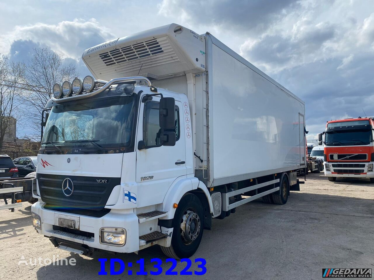 камион-ладилник MERCEDES-BENZ Axor 1828 Manual