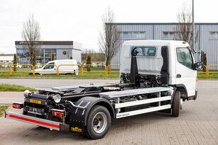 нови камион рол кипер Mitsubishi Fuso 9C18 AMT + KING HZ6R Hooklift