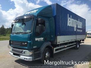 камион со церада DAF LF 55 250 plandeka + winda Sprowadzony ze Szwajcarii