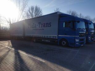 камион со церада MAN + приколка со церада