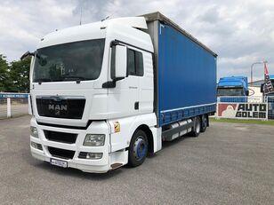 камион со церада MAN TGX 24.440 flatbed