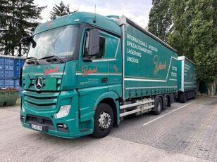 камион со церада MERCEDES-BENZ 2545 L 6X2 ACTROS / EURO 6