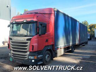 камион со церада SCANIA R400,Euro 5, Automat + приколка со церада
