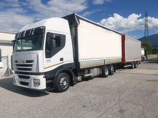 камион со церада IVECO Iveco Stralis 420 + приколка со церада