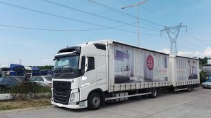 камион со церада VOLVO fh 420 EURO 6 + приколка со церада