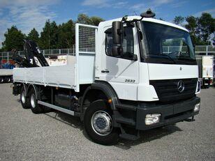 камион со рамна платформа MERCEDES-BENZ Axor 2633 6x4 Darus