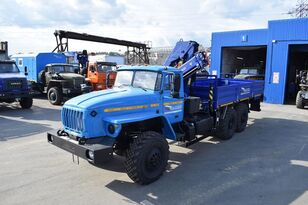 нови камион со рамна платформа URAL Бортовой автомобиль Урал 4320 с г/м АНТ-7,5-2
