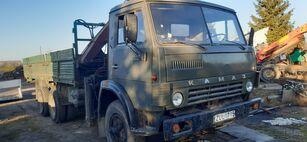 камион со рамна платформа KAMAZ 5320+KRANAS