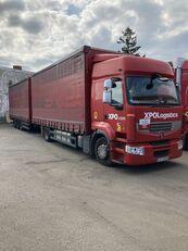 камион со завеса RENAULT PREMIUM 460 DXI EEV + приколка завеса