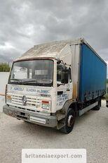 камион со завеса RENAULT Midliner M140.13 left hand drive 6 cylinder 13 ton full springs