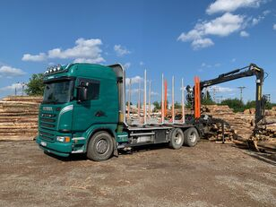 камион за превоз на дрва SCANIA G480 KRAN KESLA 2009SI