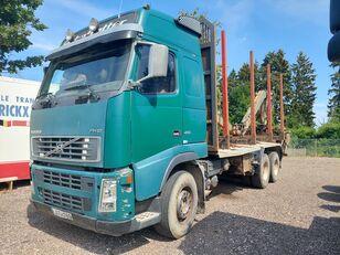 камион за превоз на дрва VOLVO FH12 460 6X4 LOGLIFT 82