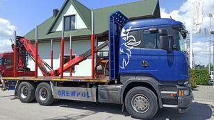 камион за превоз на дрва SCANIA R520