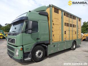 камион за превоз на животни VOLVO FM420/Menke-Janzen Viehtransporter 3Stock