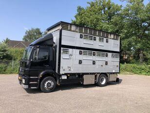 камион за превоз на животни MERCEDES-BENZ Axor Pezzaioli 1/2 stock Veewagen Hefdak