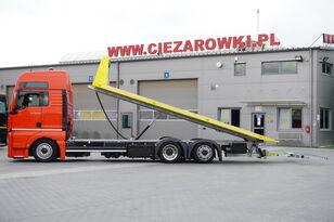камион за шлепување MAN TGX 26.440 XXL , E6 , 6X2 , NEW BODY 7,5m , hydraulic , 2x winch