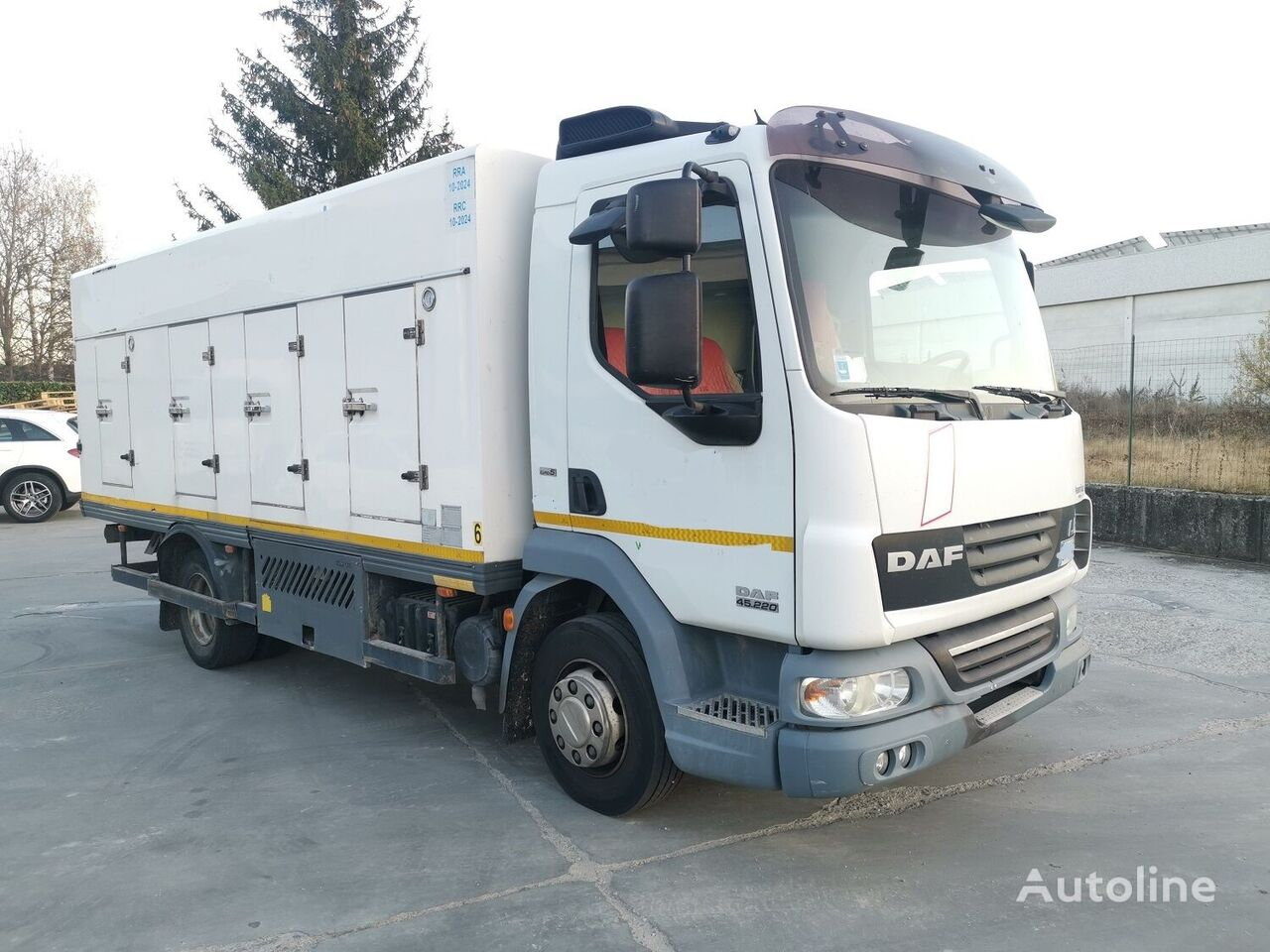 камион за сладолед DAF 45.220 SURGELATI ATP 10/2024 - 120QLI