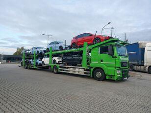 камион за транспорт на возила MAN TGS