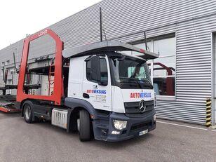 камион за транспорт на возила MERCEDES-BENZ ACTROS + приколка за транспорт на возила