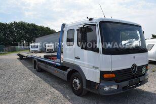 камион за транспорт на возила MERCEDES-BENZ Atego 818 Csörlővel és Rámpával