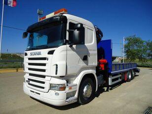 камион за транспорт на возила SCANIA R 440