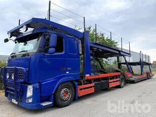 камион за транспорт на возила VOLVO FH 460