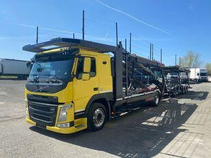 камион за транспорт на возила VOLVO FM 460 Supertrans  Komp Bj 02/2016 2x Vorhanden