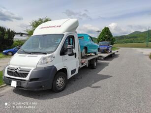 камион за транспорт на возила CITROEN Jumper 3.0liter 2008 winch ramp + приколка за транспорт на возила