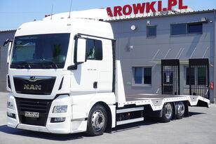 камион за транспорт на возила MAN TGX 26.460 XLX , E6 , 6X2 , NEW BODY 7,9m , ramps ,winch , remot