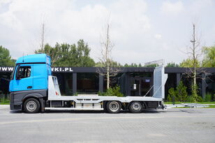 камион за транспорт на возила MERCEDES-BENZ Actros 2542 , E6 , MEGA , NEW BODY , car tow 10T , hydraulic ram